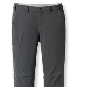 REI Sahara Roll-Up Pants Women Sz 10 Gray